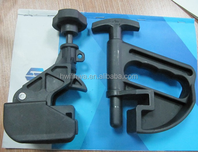 Tire changer demounting tools