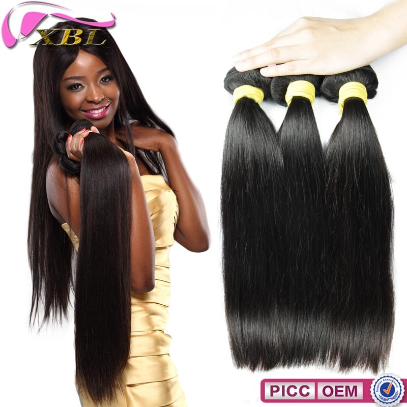 Full cuticle healthy 1B 20 Inch Straight Human Hair