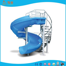 Guangzhou Hot Sale Open Spiral Water Slide / Water Park Equipments