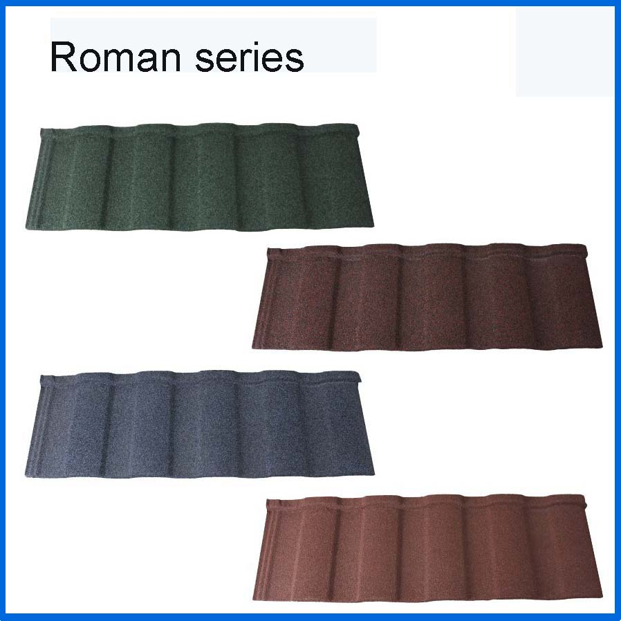 Trade Assurance Solar Roof Tiles Stone Coated Metal Roof Tile For House, Metal  Roof Tile