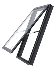 Modern Aluminum Awning Window with grill design