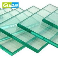 Guida brand high quality hot sale chemically roofing panels shower tempered glass