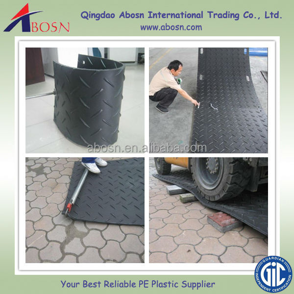 Plastic Ground Cover Mats Temporary Driveways And Car