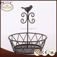 Excellent factory directly three tier fruit basket