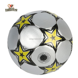 High quality soccer balls custom rubber ball factory PVC soccer football !PU foam ball