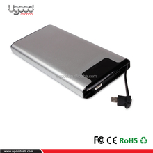 Dual usb portable battery charger 10000mAh,high capacity LED digit power bank,mobile power supply