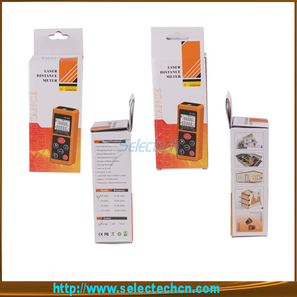 SE-MCP-60C Hot sale the newest Mini 60M precision cheap measuring tape laser digital distance meter