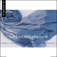 New type top sale blue stripe scarf