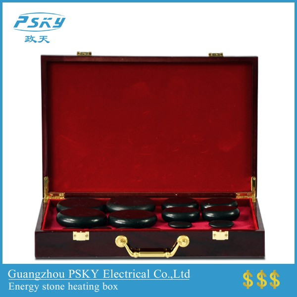 Hot Stone Massage Bamboo Heating Box