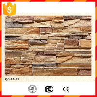 High quality light weight faux stone panel for exterior wall cladding