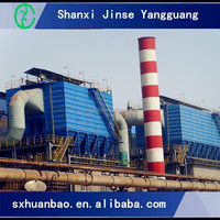 Industrial baghouse dust suppression system