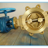 Rubber Seated Lug Brass Butterfly Valve