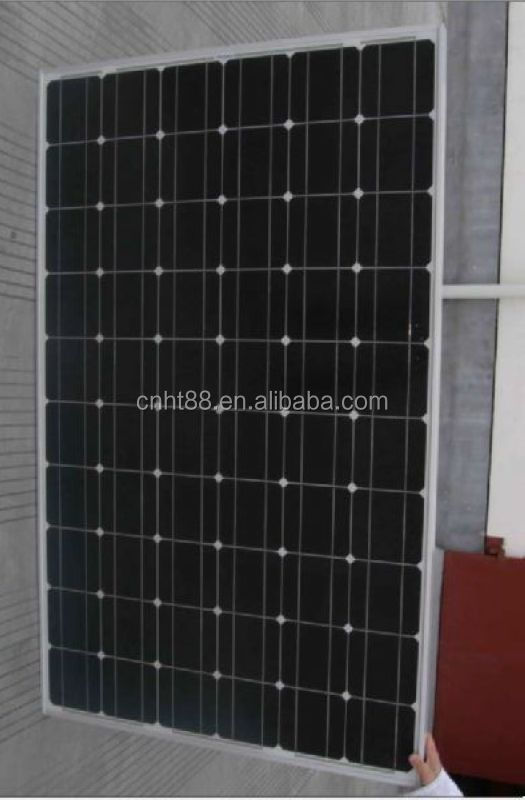 Hot selling competitive price 24v 250w solar panel with CE and ISO