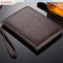 For Apple iPad 12.7/9.7 Inch Genuine Leather Case With Credit Card Holder Flip Bumper Back Case For iPad mini/air/pro