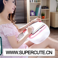 Mini Inflatable plastic folding sofa tablet/ ipad/ laptop/ computer adjustable table laptop