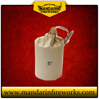MANDARIN FIREWORKS AND FIRECRACKERS CYLINDER SHELL FOR DISPLAY FIREWORKS