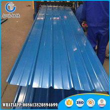 Modern design color coated corrugated steel roof tile for structure house with wholesale price