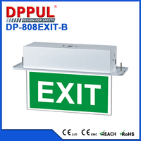 Competitive Price Double Sided Safety Elevator Emergency Exit Sign