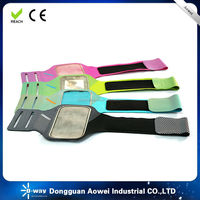 2016 new design running sport armband for mobile phone, waterproof bag for smart phone