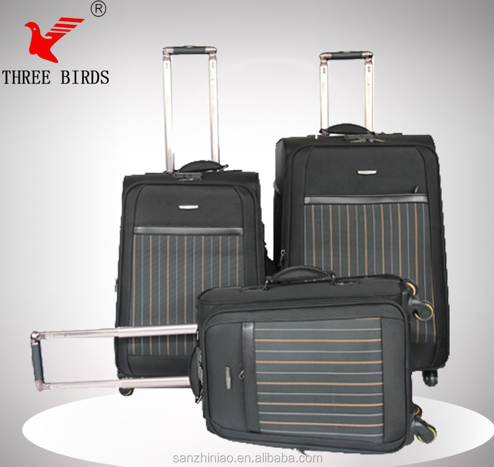 high quality with hot sale luggage/trolley luggage/carry on baggage size
