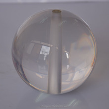 Solid glass glass ball with hole