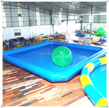 High Quality 0.9mm PVC Inflatable Adult Swimming Pool, Outdoor Swimming Pool