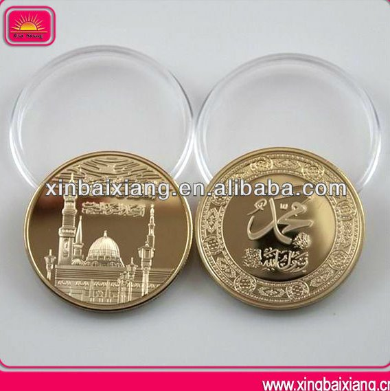 Cheap Metal Souvenir Custom Challenge Fake Gold Coin