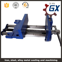 all steel cross slide machine vise,wire vise