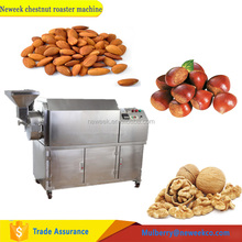 Neweek electric or gas heating groundnut toasting jujube chestnut roaster machine