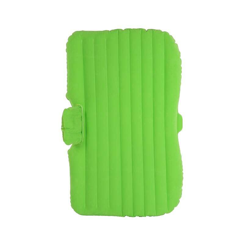 Green backseat car travel inflatable bed