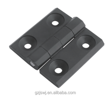 Machine Control Industrial Zinc Alloy Hinges Black 59*59mm