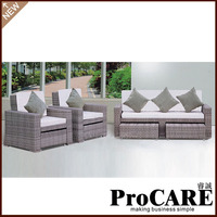 wholesale newest products white rattan outdoor furniture