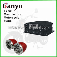Wholesale USB DC12V with radio troy lee 2.5inch plating speaker