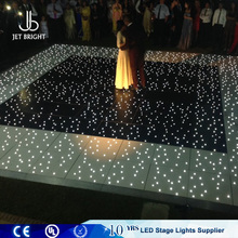Led colorful twinkle light portable starlit dance floor tiles