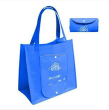 Shopping bags foldable with logo