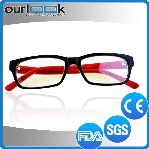 2016 China Latest Model Stylish Full Frame Spectacles
