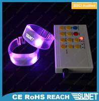 Factory wholesale party concert supplies accessories hot blinking bracelet