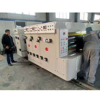 Auto Cardboard Flexo Printing Slotting Die-Cutting machine/Water Based Ink Type Machinery