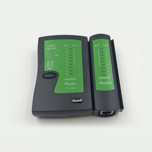 High speed professional green accurate RJ45+RJ11 remote digital lan network cable tester for computer network wire