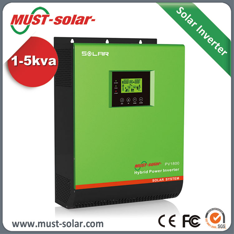 pure sine wave inverter 3000w solar panels for home system with charger MPPT