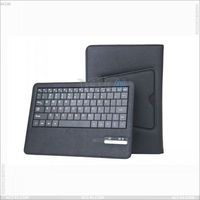 English amazon bluetooth wireless Keyboard case for Nook HD 9