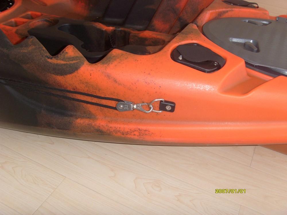 Single pedal driver kayak foot pedal kayak fishing pedal for Fishing kayak with foot pedals