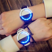 Man touch screen digital led watch,fashion couple wrist watch(SWTPW68)