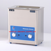 100W 4L Mechanical Ultrasonic Cleaner with Heater and Timer DSA100-XN2
