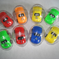 Hot Selling Product OEM Support Mini Pull Back Action Toy Cars With Capsule