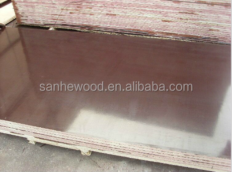 Finger-Jointed Brown Film Faced Plywood 15mm - 21mm For Construction