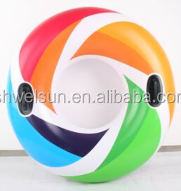 2016 inflatable swimming tubes/Color whirl Tube