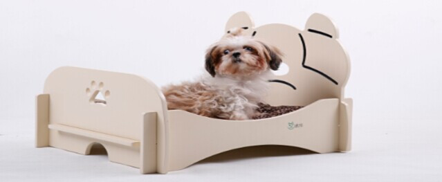 cute mdf dog house