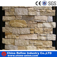 Beige Slate Culture Stone , decoration material for living room wall ,natural Slate Wall Tiles floor tiles