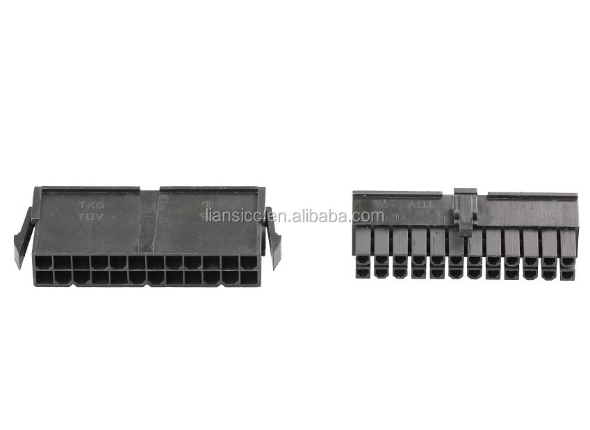 24 pin motherboard connector male to female